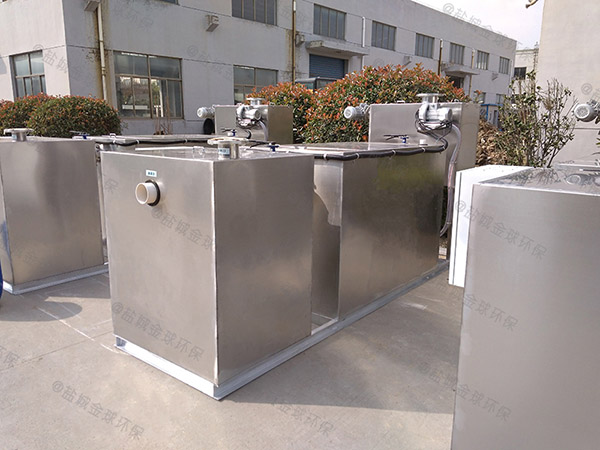 厨用地上式全自动智能型一体化隔油池提升设备使用要求