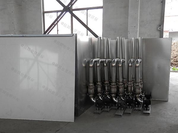 餐饮专用埋地简易一体化隔油提升装置使用