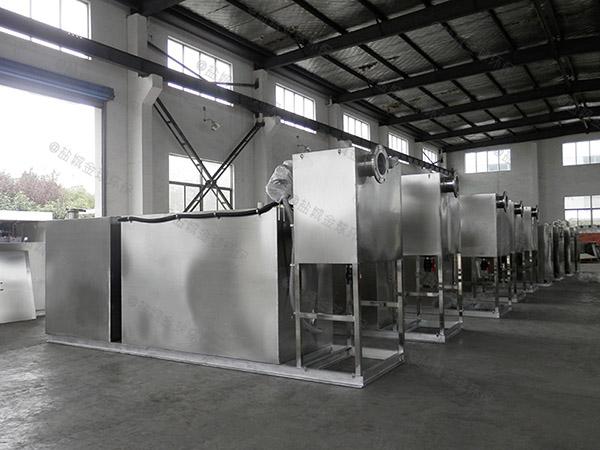 厨用地下室全自动智能型下水道油水分离器直产厂家