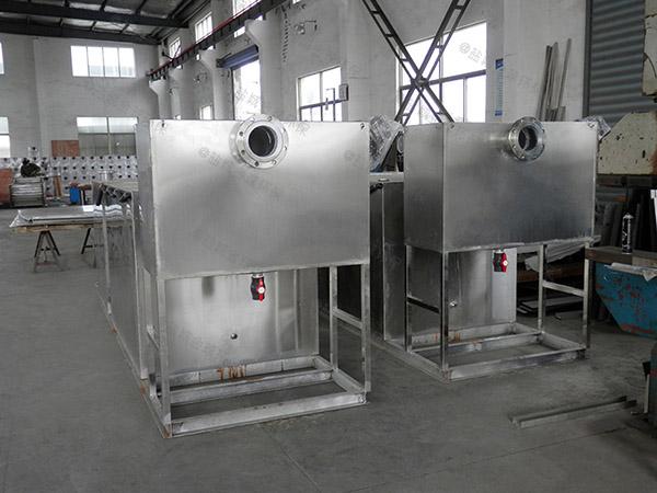 厨下型地面式移动式污水隔油池市场