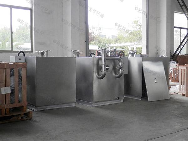 厨房用地下式全自动智能型一体隔油提升设备用途