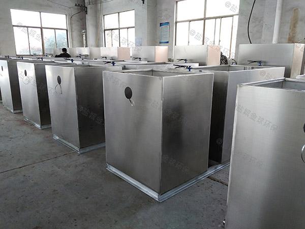 厨房用埋地全能型斜流式隔油池系统