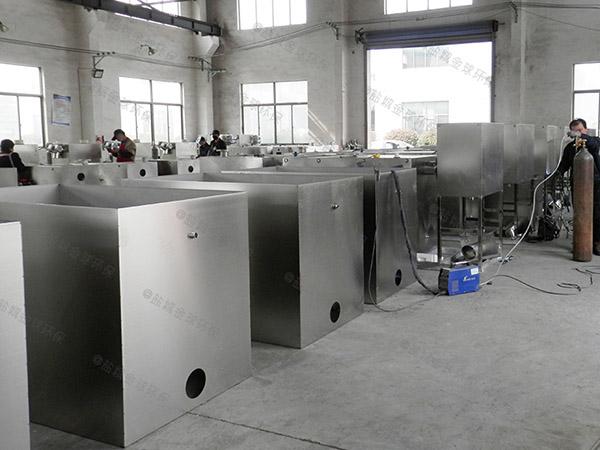 餐饮环保地下式移动一体化隔油污水提升设备销售商