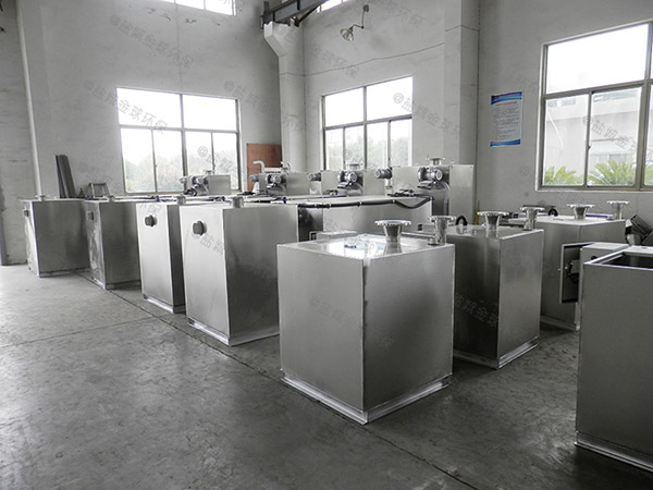 餐饮专用地下式机械一体化隔油提升装置使用要求