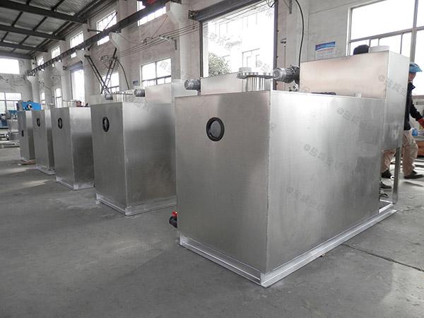 厨房用埋地全能型污水处理油水分离设备十大品牌