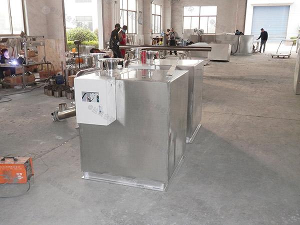 厨房用地面式半自动下水道油水分离器维修