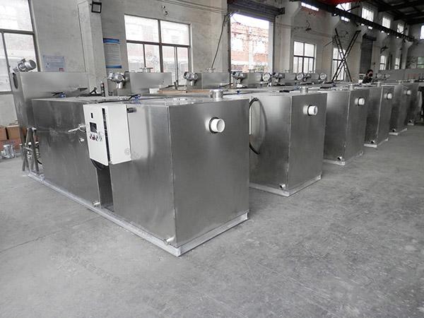 餐饮专用埋地全能型污水隔油提升设备销售商