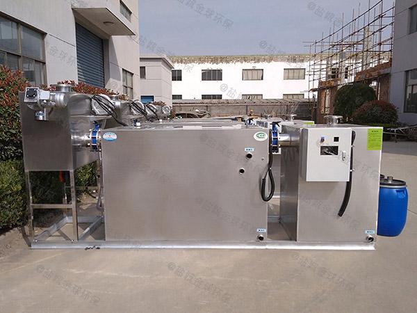 厨用地上式半自动一体化隔油器制造商