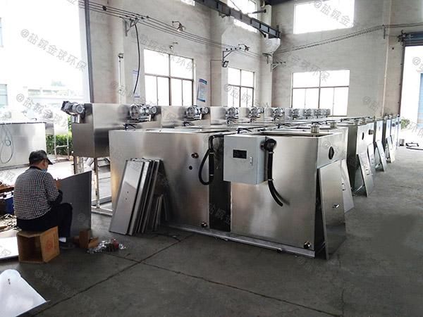 餐饮业地上式移动式污水油水分离设备直供厂家