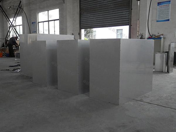 餐饮商户室外全能型一体化隔油池制造商