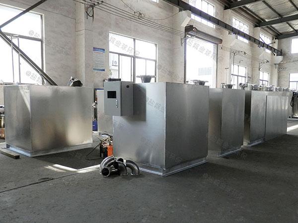 餐饮行业地下式多功能下水隔油池使用要求