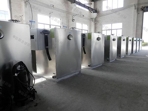 餐饮类地下室机械一体隔油提升设备制造商
