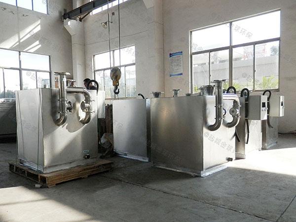 餐饮行业地下室全能型下水隔油设备用途