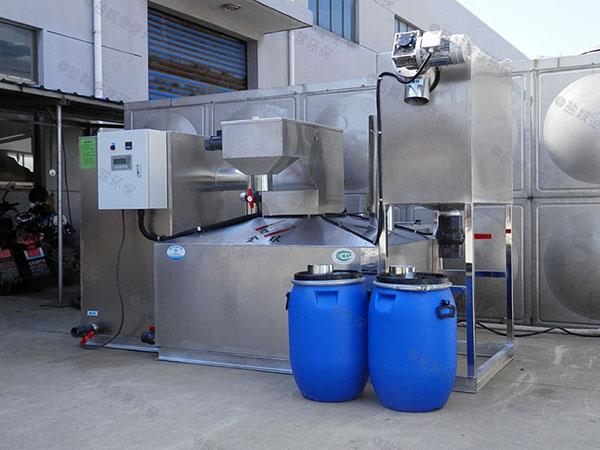 厨用地面式多功能污水油水分离设备样本