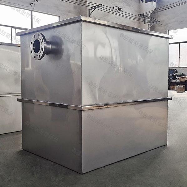 厨房用地下移动污水处理油水分离设备适用行业