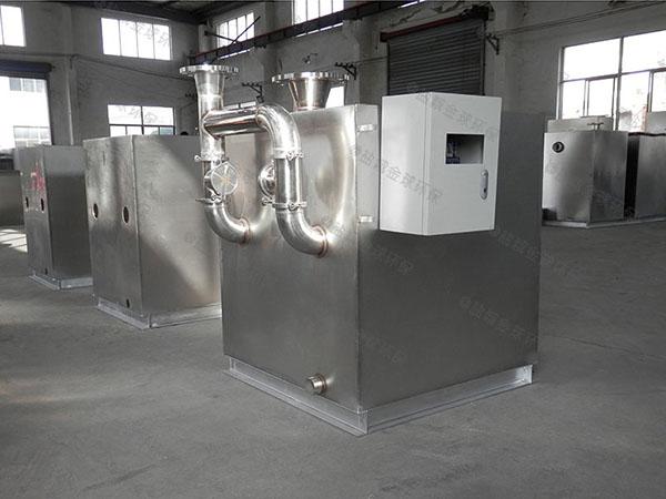 餐饮商户地上式多功能一体化隔油处理设备适用行业