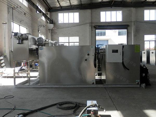 餐饮类地下多功能一体隔油提升设备制作
