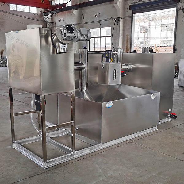餐用地面式简单一体化隔油池设备使用方法