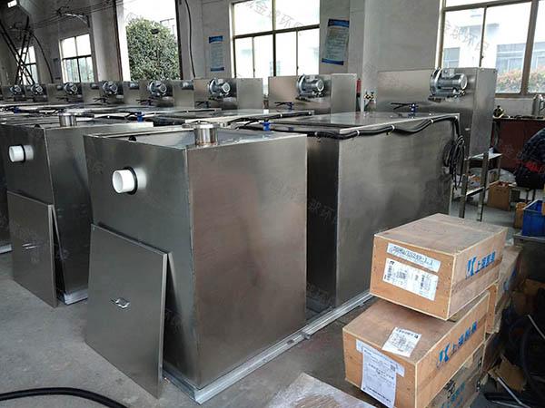 餐饮专用地下式移动一体化隔油污水提升设备应用范围