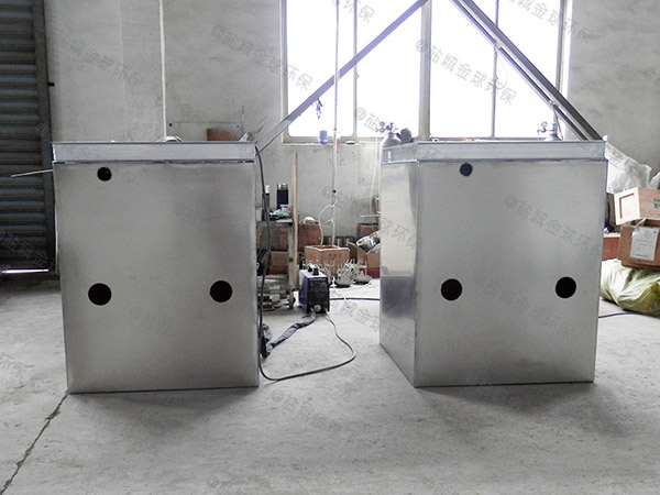 厨用地下式移动式污水提升及隔油设备制作