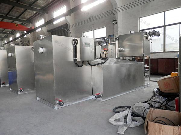 餐饮类埋地智能化一体化隔油池提升设备适用行业