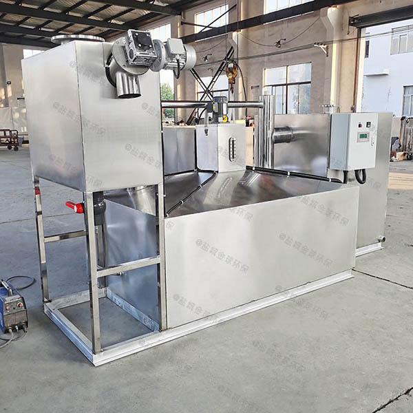 餐饮业地下全自动智能型污水油水分离设备制作方法