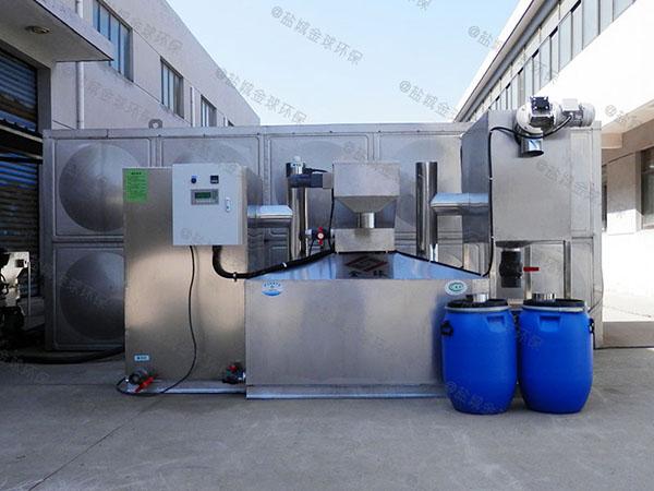 餐用地下式全自动智能型污水油水分离设备销售商