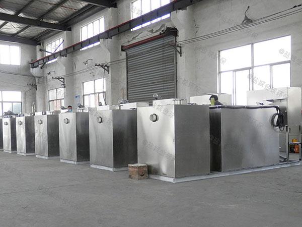 餐饮环保地上式移动污水隔油器市场