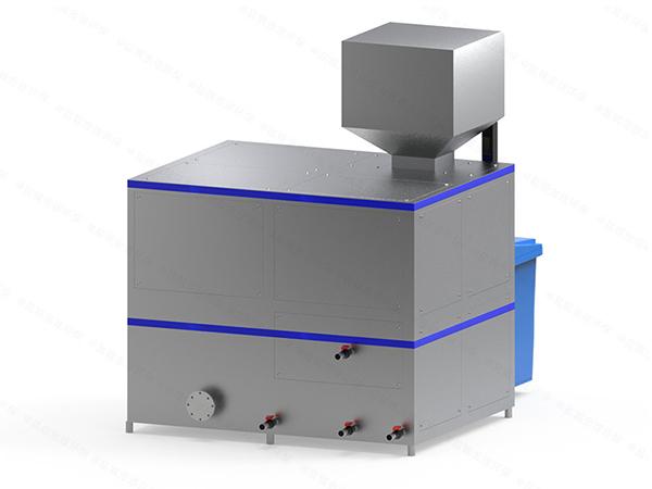 微型自动化餐厨垃圾处理设备一体机工艺