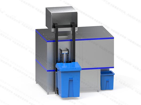 大中型环保餐饮垃圾减量化处理设备功能