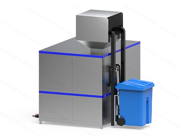 10吨智能餐厨湿垃圾处理器工作原理图