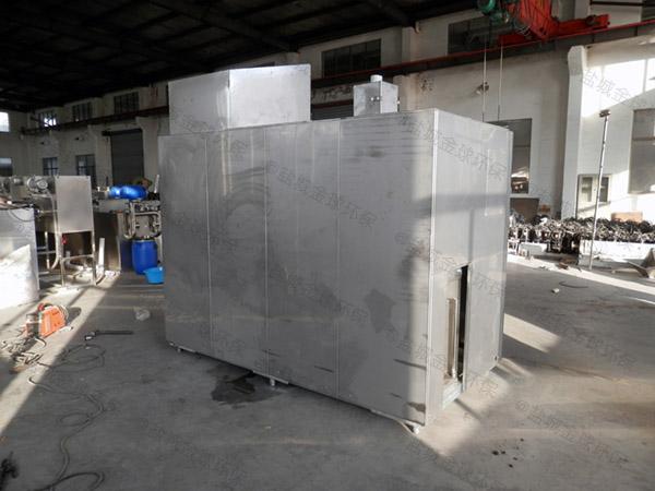 日处理5吨智能餐厨一体化垃圾处理设备生产商地址