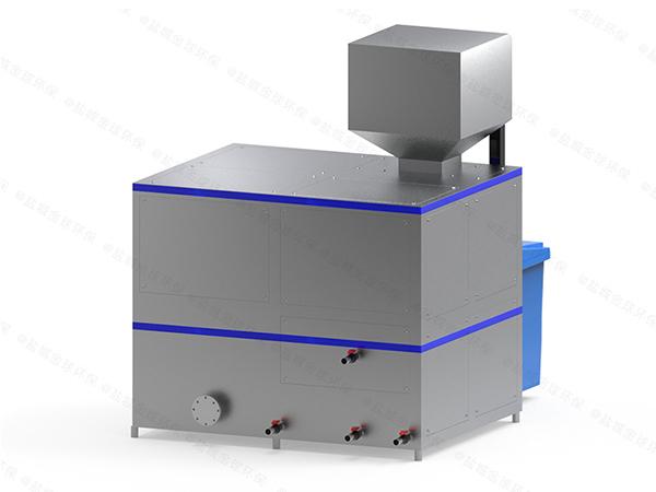 10吨机械式餐厨垃圾处理器使用情况