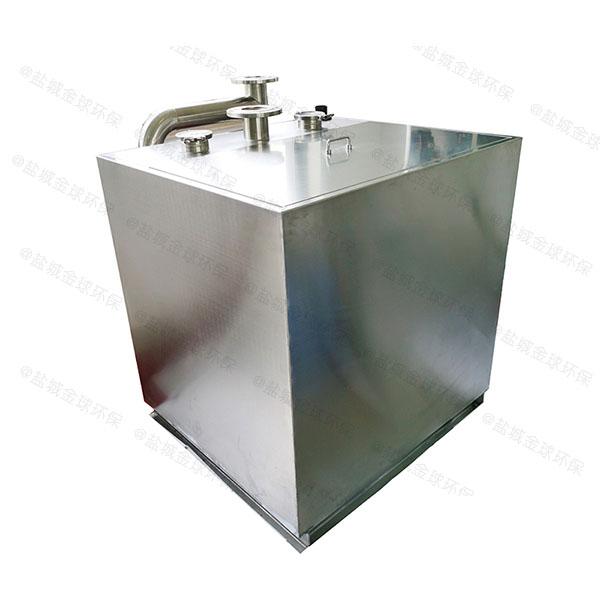 负一层一体污水提升处理器怎么装