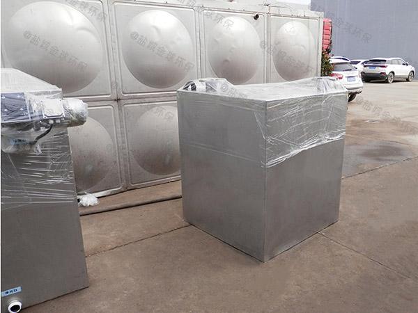 地下卫生间上排污水排放提升设备为什么要抬高