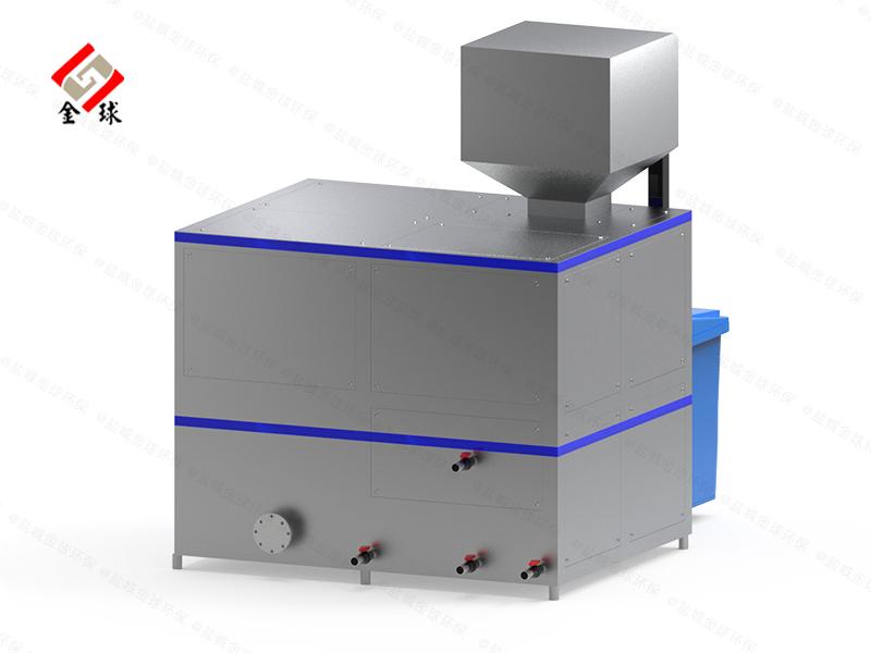 日处理10吨自动化餐饮垃圾减量处理机器设计