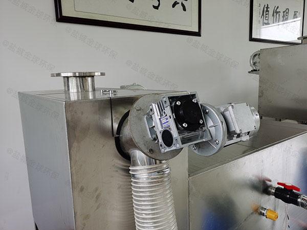 餐饮商户地下式移动式污水油水分离设备图