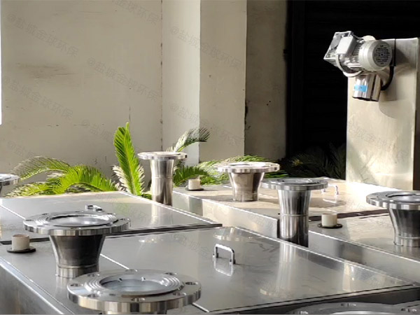 庭院密闭式自动排渣污水隔油提升器堵塞的原因及解决方法