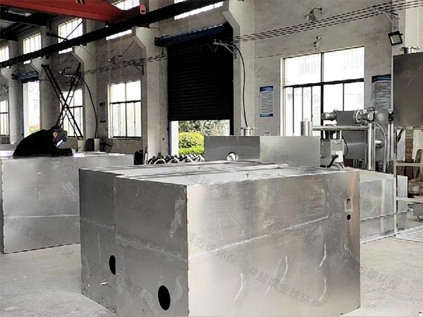 厨下型地上式简单污水处理油水分离设备市场前景