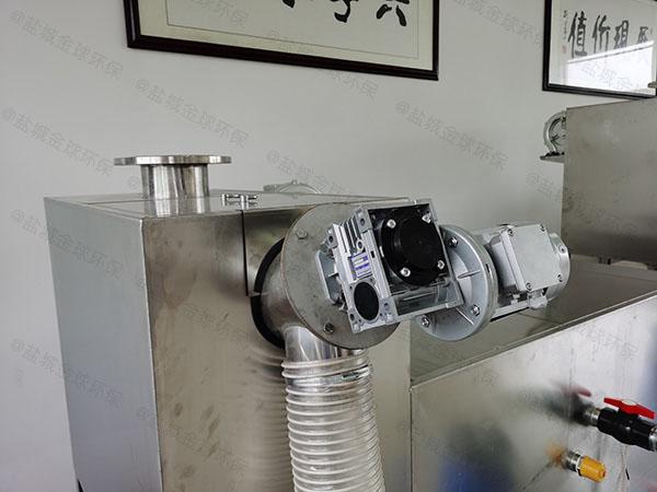 厨用地下室智能化一体化隔油池设备制作
