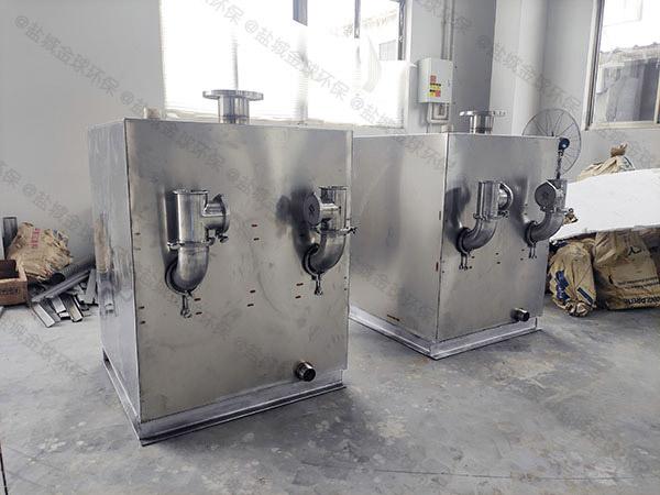 商场专用外置泵反冲洗型污水隔油提升器内开关感应膜