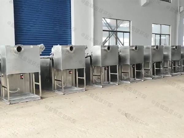 餐饮业地下室移动式污水处理油水分离设备市场
