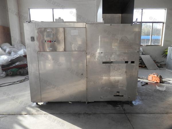 日处理10吨全自动厨余垃圾一体机使用情况