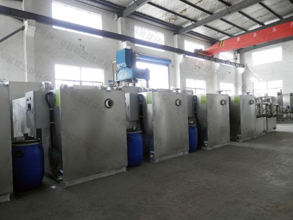 厨房用埋地式移动一体化隔油处理设备使用要求