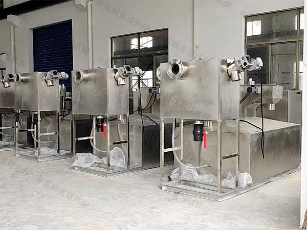 餐用室外移动污水隔油提升设备使用要求