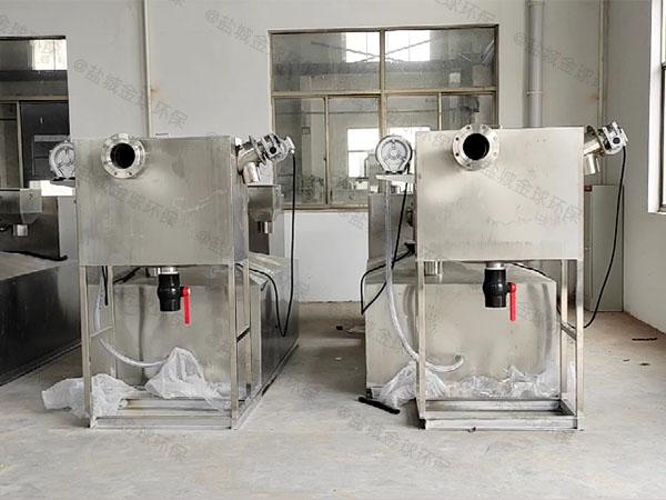 厨用埋地机械污水隔油池用法