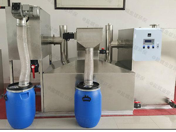 厨下型地下移动式污水隔油设备使用寿命