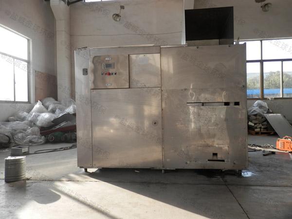 大小型自动化厨余垃圾减量设备生产工艺流程