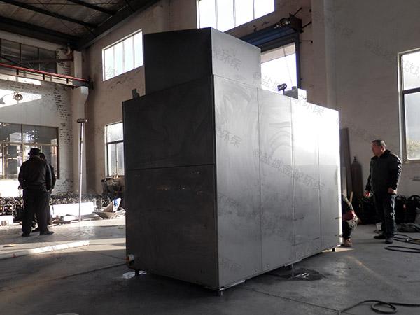 5吨自动上料餐厨垃圾一体机工作原理