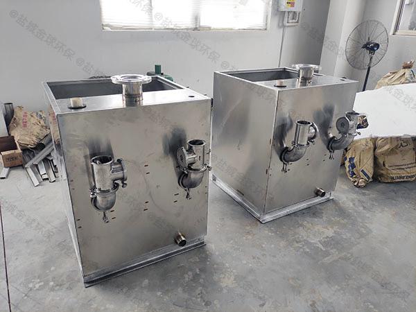商场专用自动化污水排放提升设备安装现场